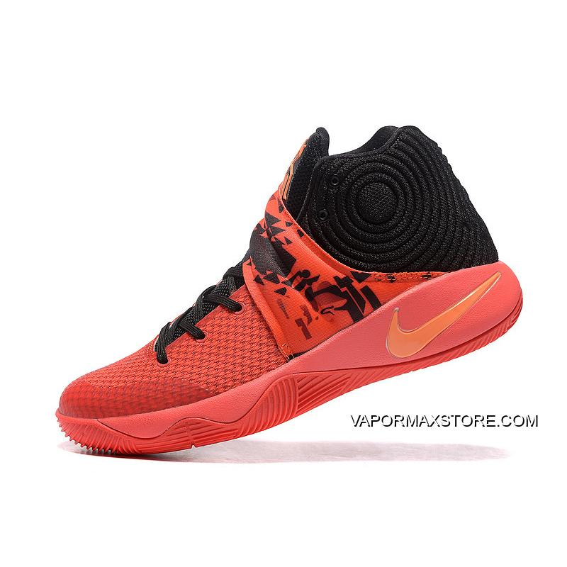 """buy cheap 94351 c830f Girls Nike Kyrie 2 """"Inferno"""" For Sale"""