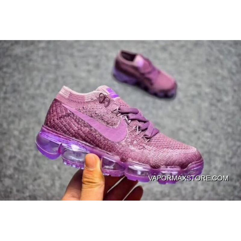 half off 50757 ec57d Big Deals Kids Nike Air VaporMax 2018 Flyknit Running Shoe SKU:131580-228