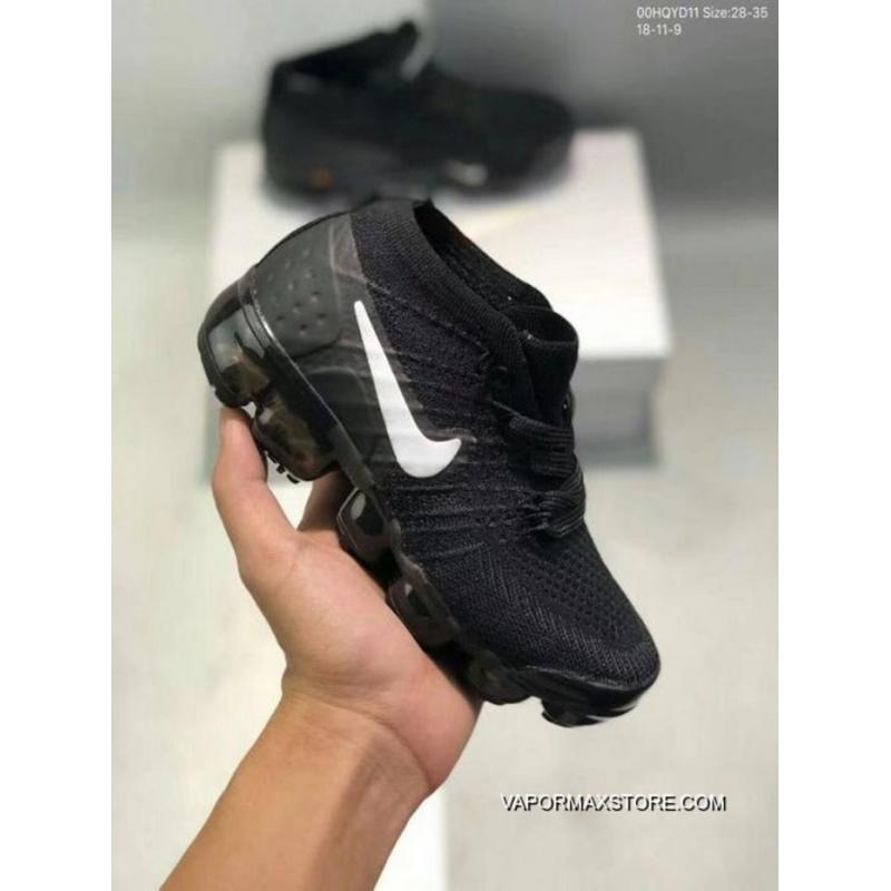 check out fd1d9 375c8 Online Kids Nike Air VaporMax 2018 Flyknit Running Shoe SKU:174786-313