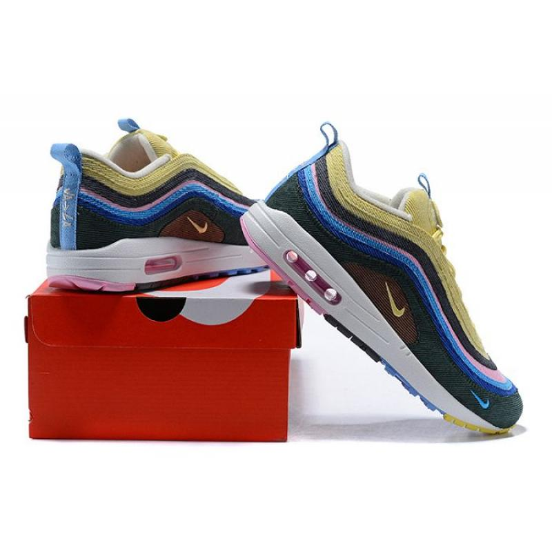 sports shoes 30f46 11ef0 Latest Men Sean Wotherspoon Nike Air Max 97 Hybrid SKU:14046-309