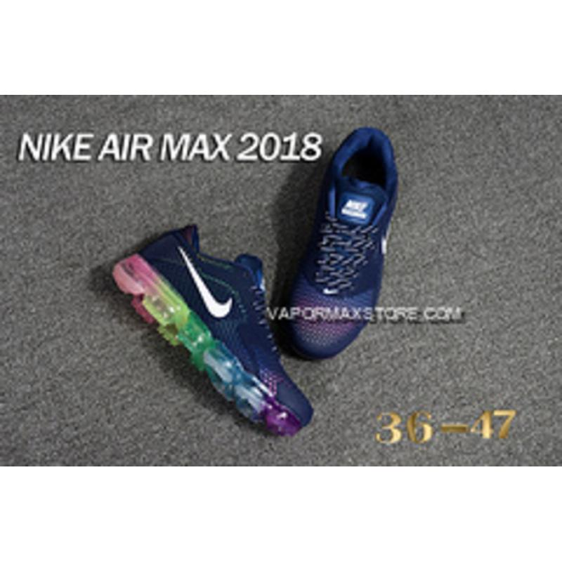 ... Men Nike Air VaporMax 2018 Running Shoes KPU SKU 146763-261 New Style  ... ec75bf9e3