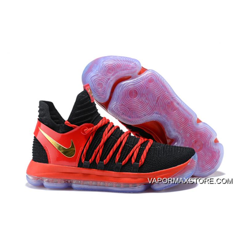 2ada700c8a51 discount code for big deals nike kd 10 black university red metallic gold  c1256 41147