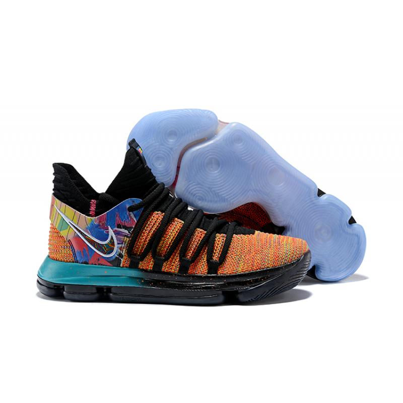 "dc9208a13196 New Style Nike KD 10 ""What The"" PE ..."