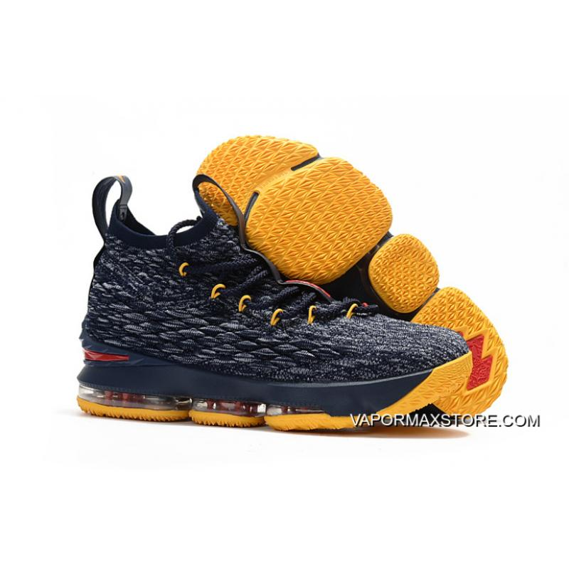 online retailer 3c2b6 e3219 Nike LeBron 15 Black/Yellow-Red Shoes Buy Now