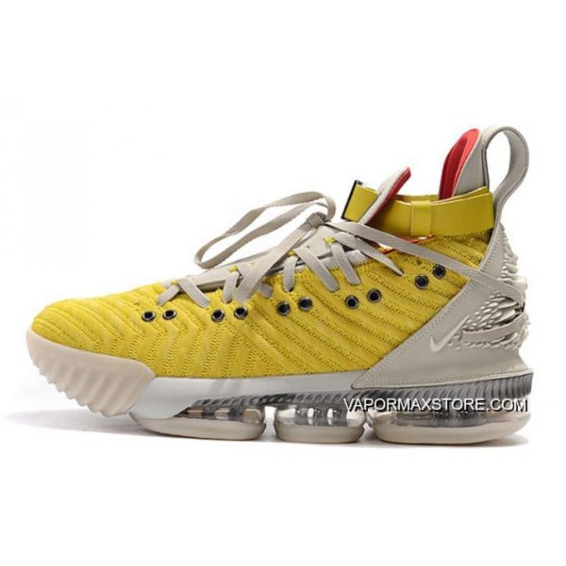 "sports shoes fce27 2ee58 Nike LeBron 16 ""HFR"" Bright Citron/Summit White CI1145-700 New Year Deals"