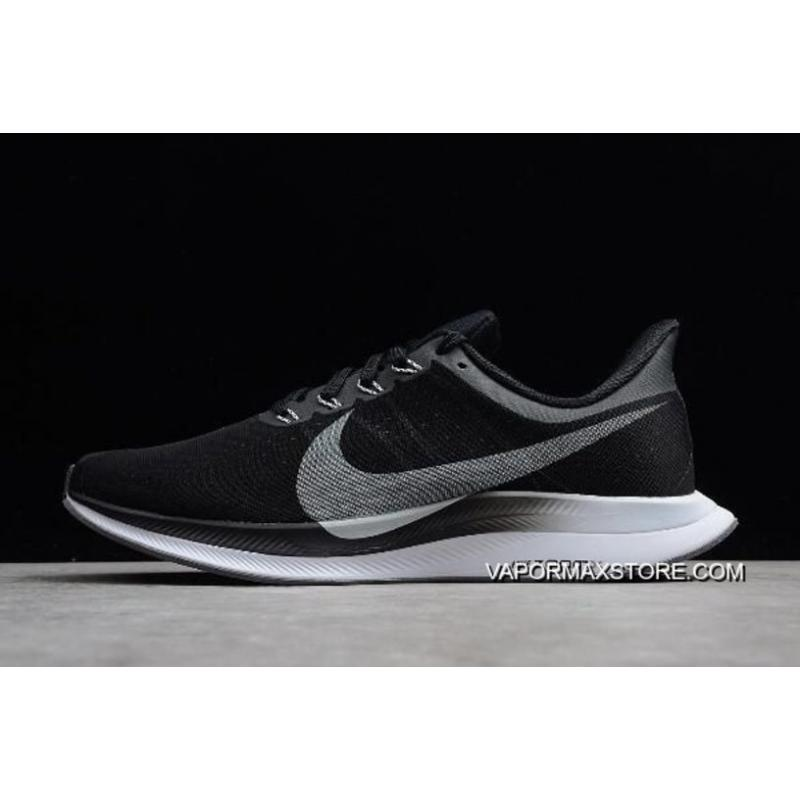 acheter populaire c2422 4cbca Women/Men Authentic Nike Air Zoom Pegasus 35 Turbo Black/Vast Grey-Oil  Grey-Gunsmoke AJ4114-001