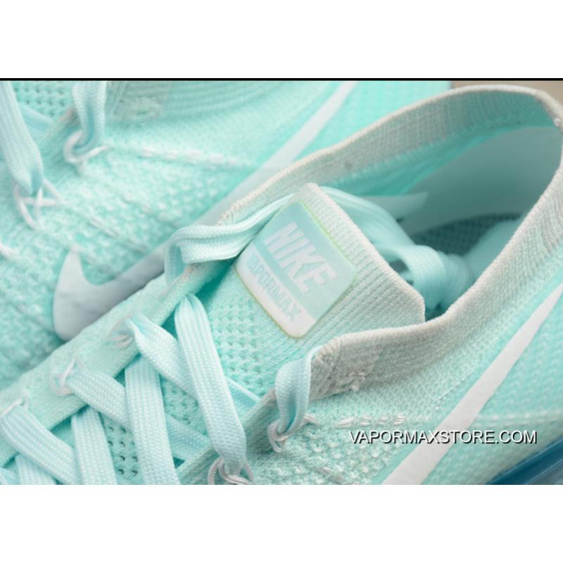 51c197b982 Nike Air VaporMax Glacier Blue And White-Pure Platinum Outlet, Price ...
