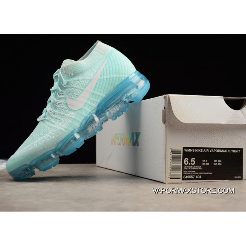 47d9634fd7 Nike Air VaporMax Glacier Blue And White-Pure Platinum Outlet, Price ...