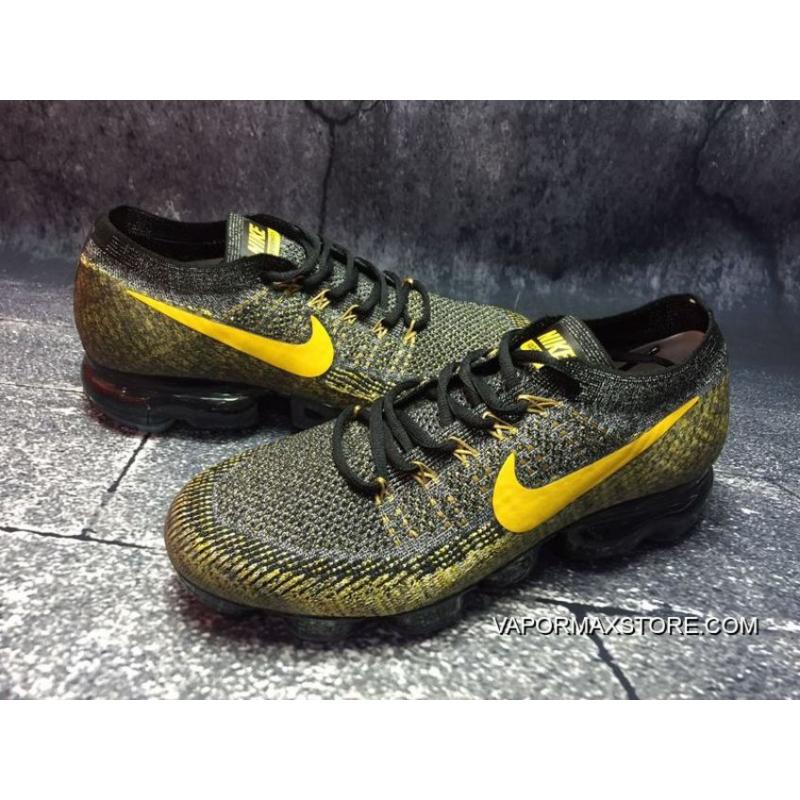 ... Nike Air VaporMax Grey And Yellow New Release ... f7b9f9fde4