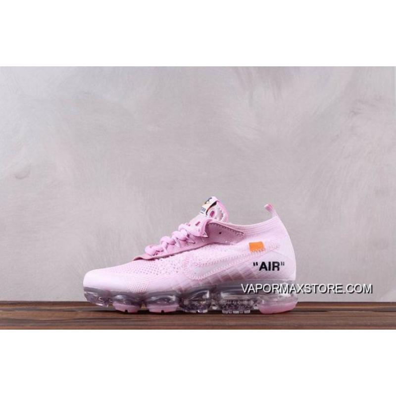 separation shoes 94470 7ee8e Best Men OFF-WHITE X Nike Nike Air Vapormax 2018 Running Shoes SKU:38264-305