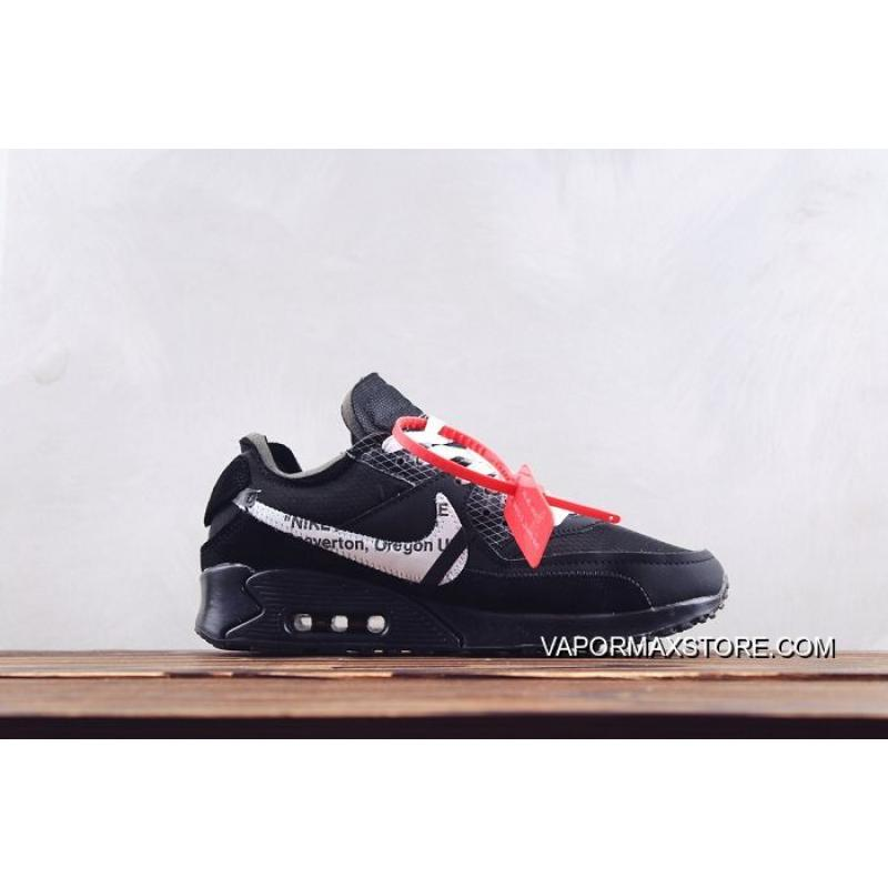 6284e923d2 Men Nike Air Max 90 X OFF-WHITE Running Shoes SKU:46284-413 Best ...