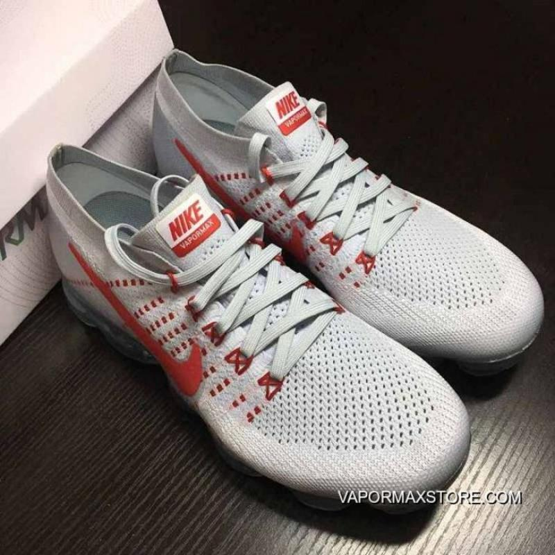 brand new af7f0 ccfca Women Nike 2018 Air VaporMax Sneakers SKU:113415-215 Outlet