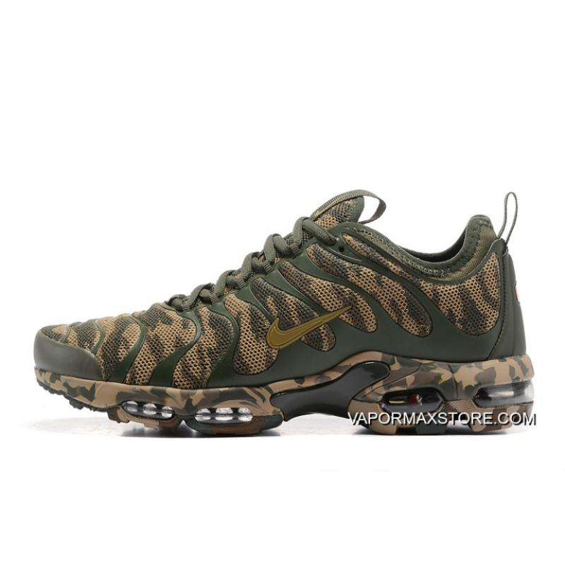 finest selection 1f6ed 26652 New Style Women Nike Air Max Plus TN Ultra Camouflage Sneaker SKU:197037-218