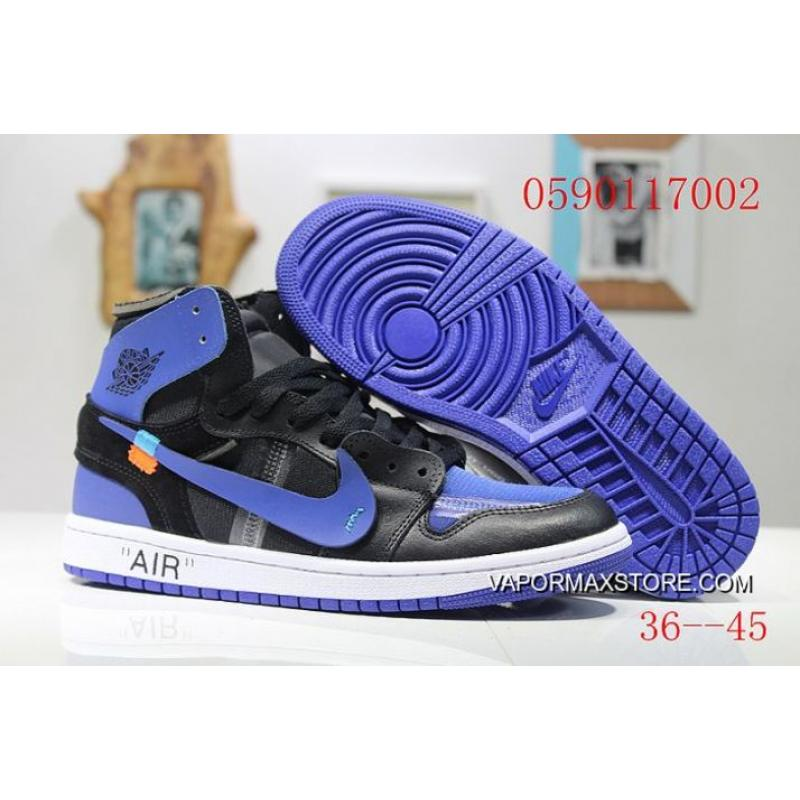 c7e3ded57d3 Women OFF-WHITE X Air Jordan 1 Sneakers SKU 32670-347 New Style ...