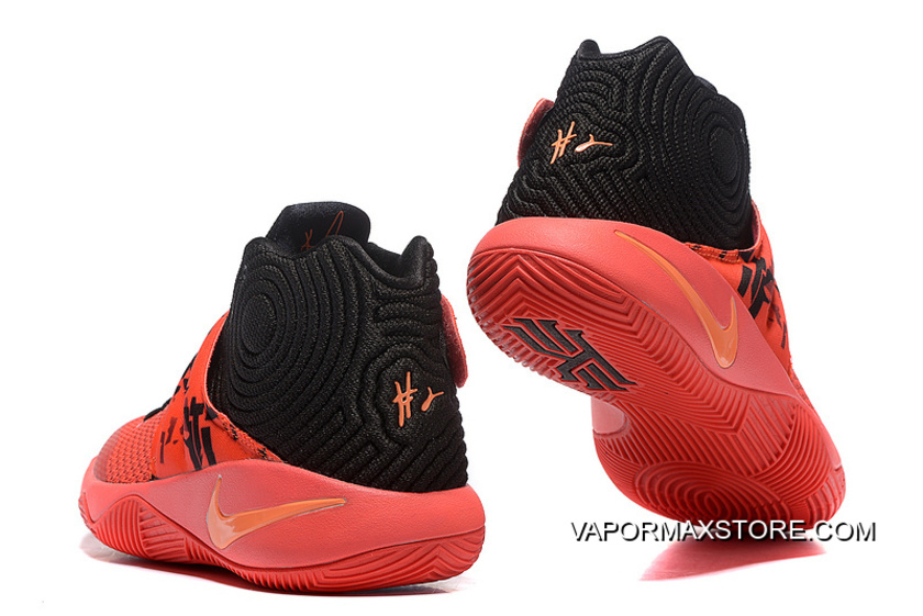 """buy cheap 135cd 96871 Girls Nike Kyrie 2 """"Inferno"""" For Sale"""