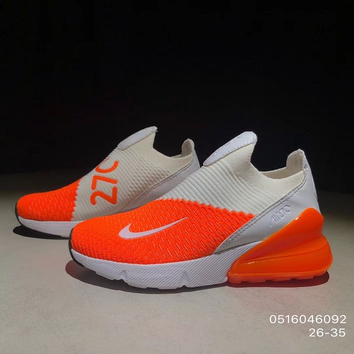 release date 5a837 95f27 Kids Nike Air Max 270 Running Shoe SKU:87917-270 Super Deals