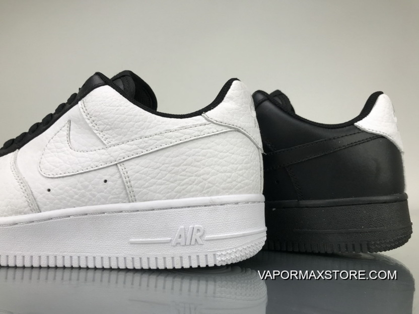 finest selection 8ed25 bebf9 New Release P240 Black White Split Nike Air Force One Low 1 Low Split  905345-00428