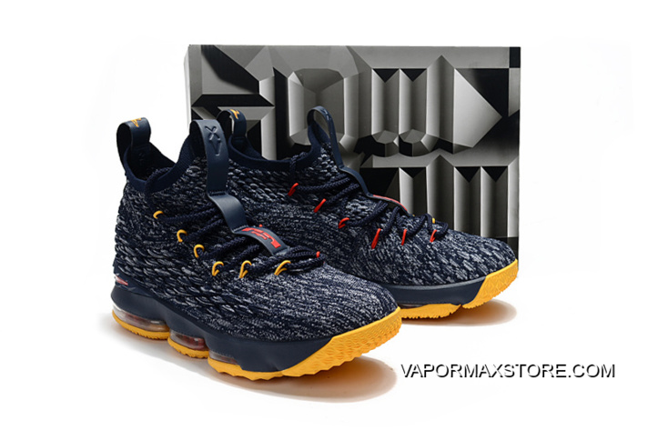 online retailer 5169a 90fed Nike LeBron 15 Black/Yellow-Red Shoes Buy Now