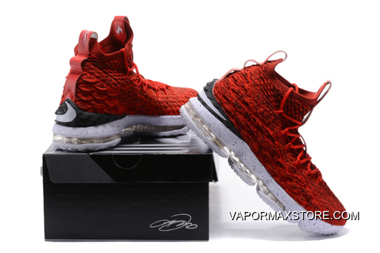 new product 8af70 7c597 Where To Buy Nike LeBron 15 University Red/White-Black