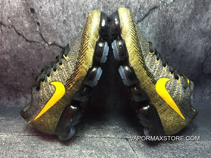 promo code 4dd3d 1f877 Nike Air VaporMax Grey And Yellow New Release