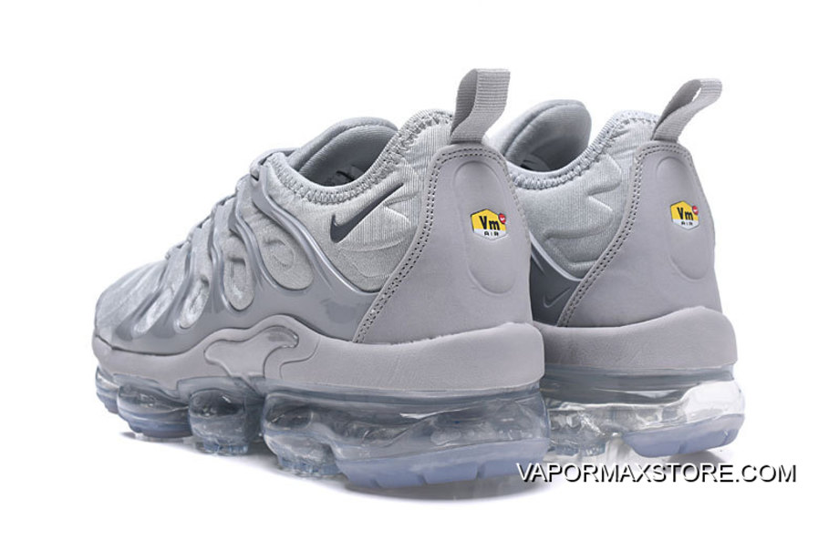 6dc1deb488 Nike VaporMax Plus Wolf Grey For Sale, Price: $91.16 - Nike Vapor ...